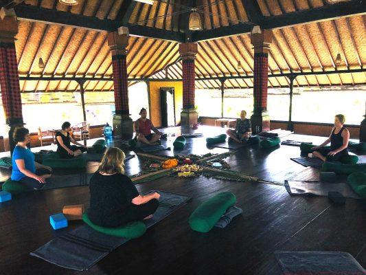 2018 Bali Teaching Yoga and Mindfulness