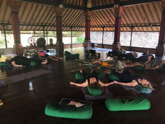 2018 Bali Teaching Yoga and Mindfulness Niso Journey