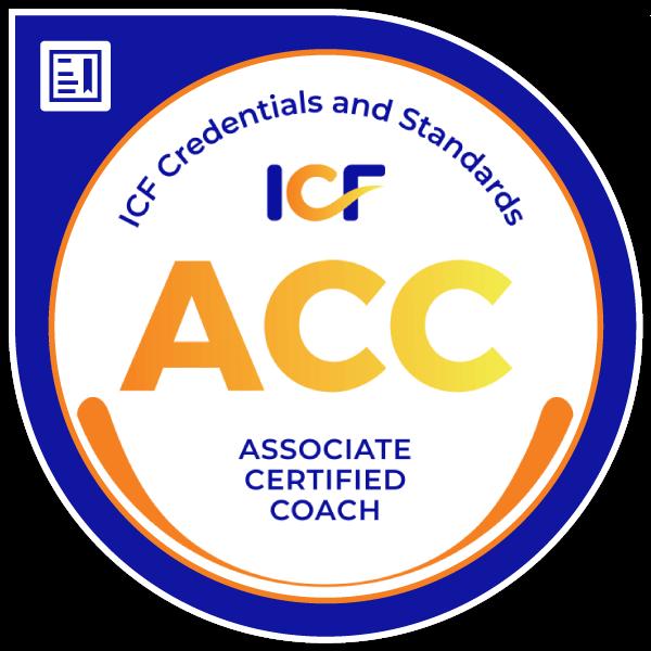 ICF Associate Certified Coach Badge