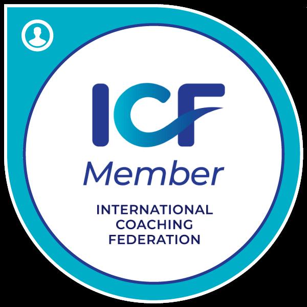 ICF International Coaching Federation Badge